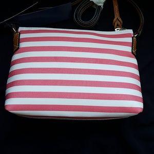 Dooney & Bourke Bags - Dooney & Bourke bag, Pouchette, watermelon stripe